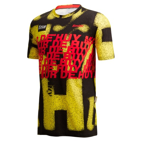 GLASSES 100% SPEEDCRAFT MATTE WHITE HIPER BLUE MULTILAYER MIRROR