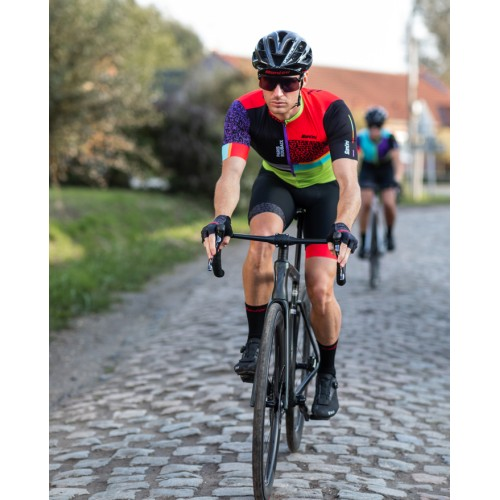 GLOVES 100% GEOMATIC YELLOW FLUO