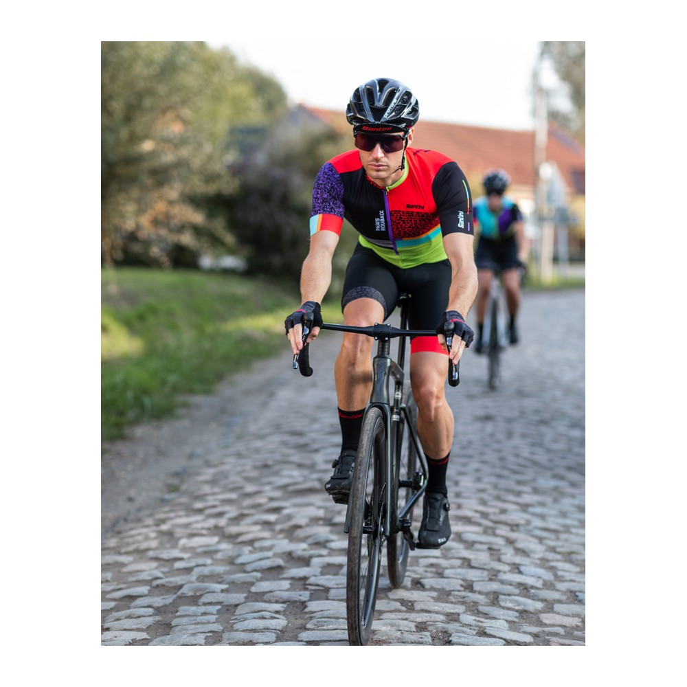 GLOVES 100% GEOMATIC YELLOW FLUO   Codice: L10022-004