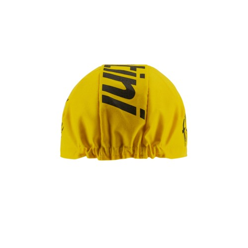 CASCO RUDY PROJECT VENGER CROSS TITANIUM AMARILLO FLUO MATTE